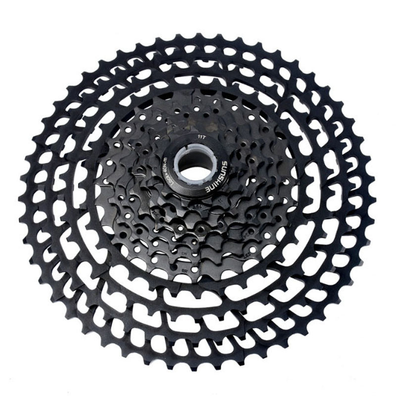 BOLANY Premium 10S 11-50T Freewheel Mountain Bike Cassette Cogs For SHIMANO SRAM