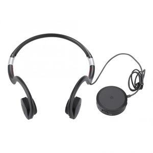 Image 2 - السمع 5V500mAh شحن سماعات توصيل العظام الصوت مكبرات الصوت السمع BN 802 كابل يو اس بي الأسود الساخن