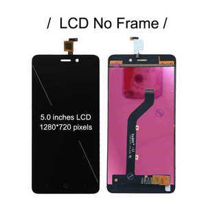 """Image 2 - 5 """"LCD ZTE Blade X3 tam LCD bıçak D2 ekran dokunmatik ekran sensörü sayısallaştırıcı meclisi T620 A452 ekran yedek LCD yeni"""