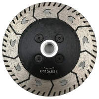 1Pc 4.5 Inch Diamond Dual Saw Blade Dia 115Mm Cutting Grinding Disc Cut Grind Sharpen Granite Marble Concrete|Grinders| |  -