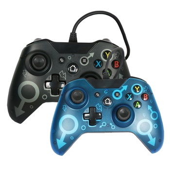 Gamepad para Xbox un controlador de cable USB Joystick para XBOX uno Slim consola para Windows PC Win7 8 10 Xbox One Control de Joystick