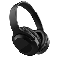 Active Noise Reduction Headset Bluetooth Wireless Folding Deep Bass For Sports Music Lightweight Swiveling Ear Cups