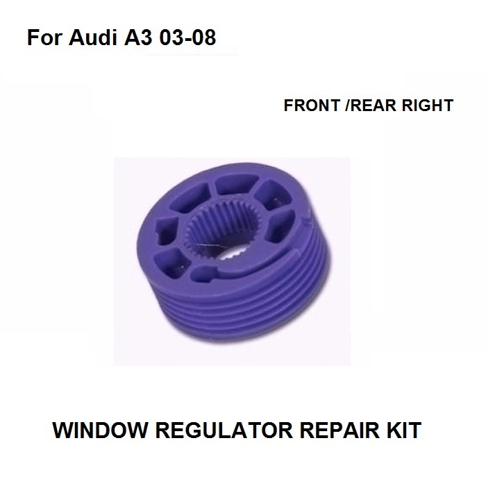 <font><b>Car</b></font> <font><b>Pulley</b></font> For Audi A3 / For Seat Altea / For Seat Toledo / For VW Polo Window Regulator Repair Kit Front & Rear Right New image