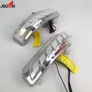 Image 5 - Dinamik dönüş sinyal ışığı park su birikintisi LED yan ayna sıralı göstergesi Toyota Land Cruiser için LC200 FJ200 Prado FJ150