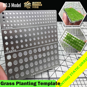 1/72 1/48 1/35 Model Scene Static Grass Planting Template Sand Table DIY Accessories Military Scenario Hobby Tool Accessory Model Building Kits TOOLS Brand Name: Manual Moment