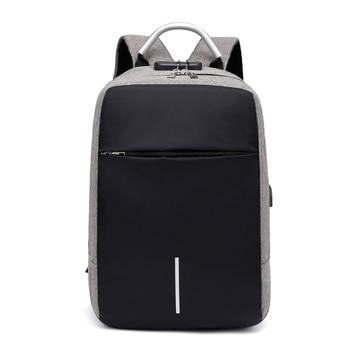 Men Multi-functional Anti Theft Backpack 15.6 6