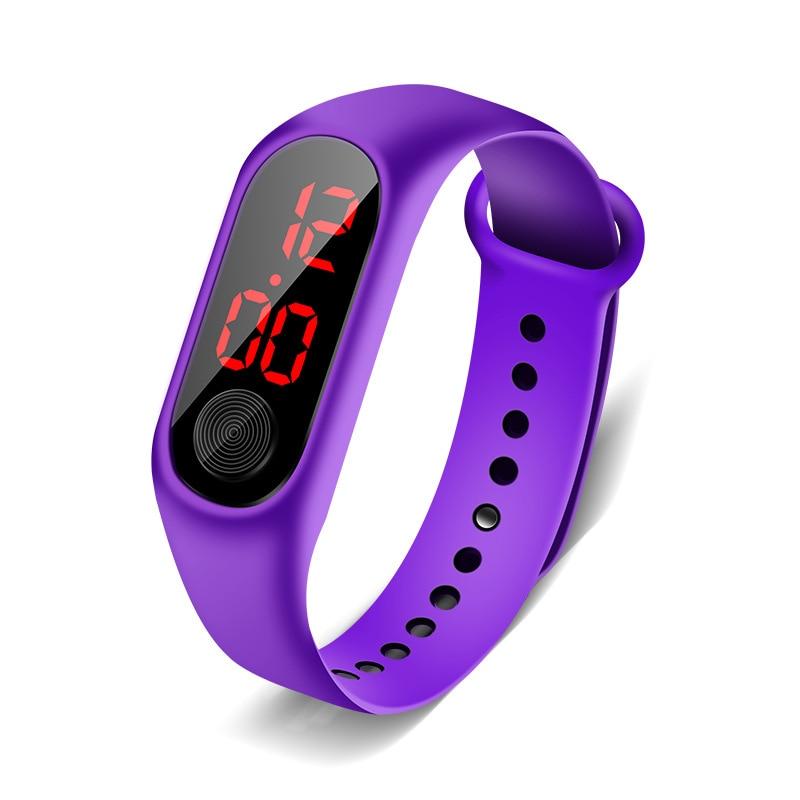 Дети% 27 Часы Светодиод Открытый Спорт Цифровой Водонепроницаемый Часы Для Мальчиков Девочек Многофункциональный Электронный Наручные часы Дети Часы 2020