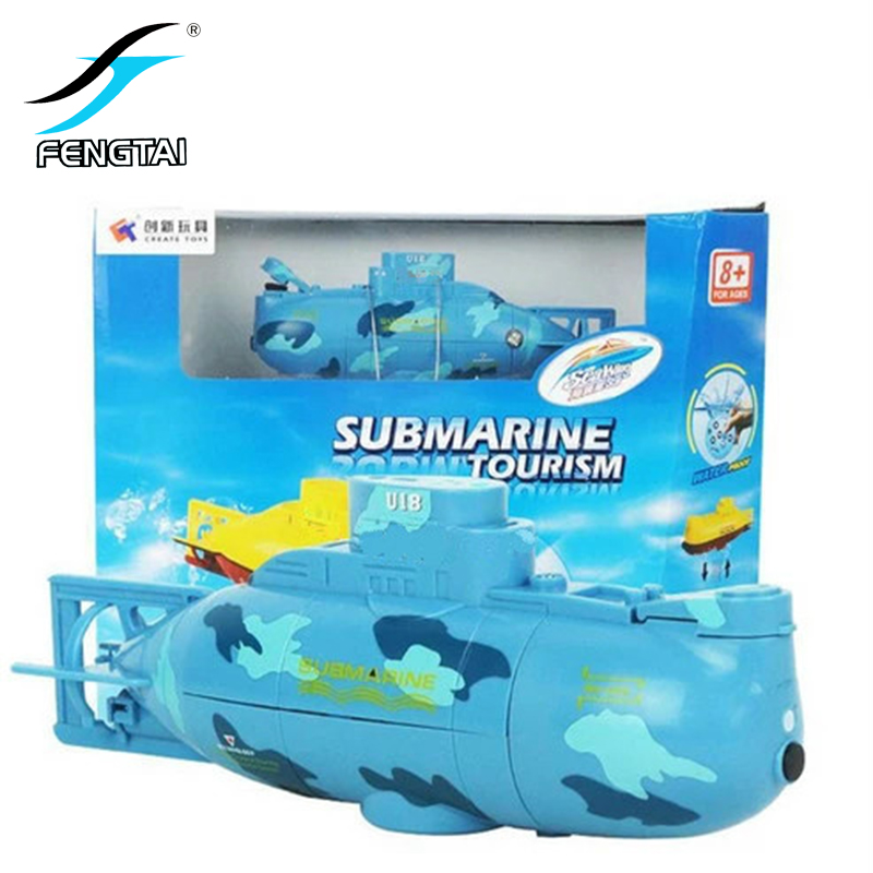 Radio Remote Control Submarine Create Toys 6CH Speed Electric Mini RC Submarine Toy Gifts for Kids