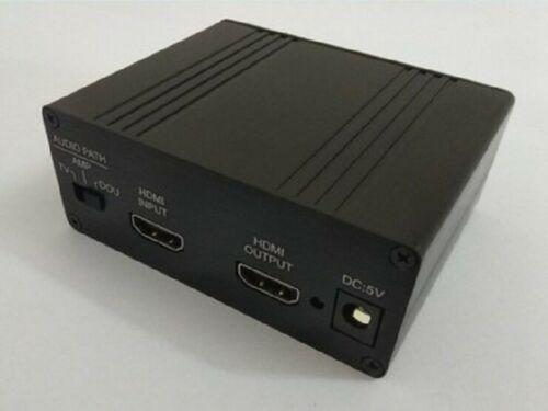Hdmi/mhl para iis i2s hdmi iis i2s extrato separado áudio i2s/dsd/óptico/coaxial com caso