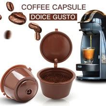 5 pcs cápsula de café nestle dolce gusto cápsula nespresso recarregável café filtro reutilizável café ferramentas entrega rápida Protecção Ambiental A protecção do Ambiente utiliza repetidamente o estilo de Venda a Que