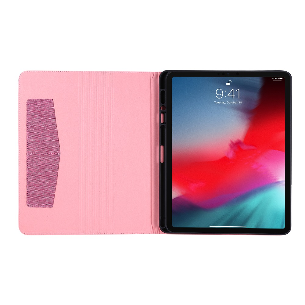 4th 12.9 Pro With Case 2020 iPad inch Coque For iPad Tablet Gen Pencil Pro Holder For