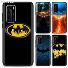 Marvel batman TPU Silicone Case for Huawei P30 Lite P40 Lite P40 Pro+ P20 P30 Pro P Smart Pro 2019 Soft Case marvel comic batman silicone case for huawei p40 pro p20 p30 lite p20 pro p10 p20 p30 p40 lite p smart pro 2019 cover