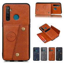 Flip Leather Case For OPPO Realme XT 5 P