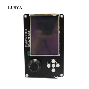 Image 1 - Lusya 3.2 Inch Touch LCD PORTAPACK H2 Console 0.5ppm TXCO With 2100MAh Battery For HackRF SDR Receiver Ham Radio C5 015