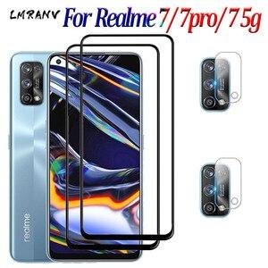 Image 1 - طبقة رقيقة واقية ل Realme 7 7 Pro الزجاج Realme7 7pro واقي للشاشة كاميرا السلامة عدسة فيلم Realmi Realme 7 Pro 7 5g الزجاج