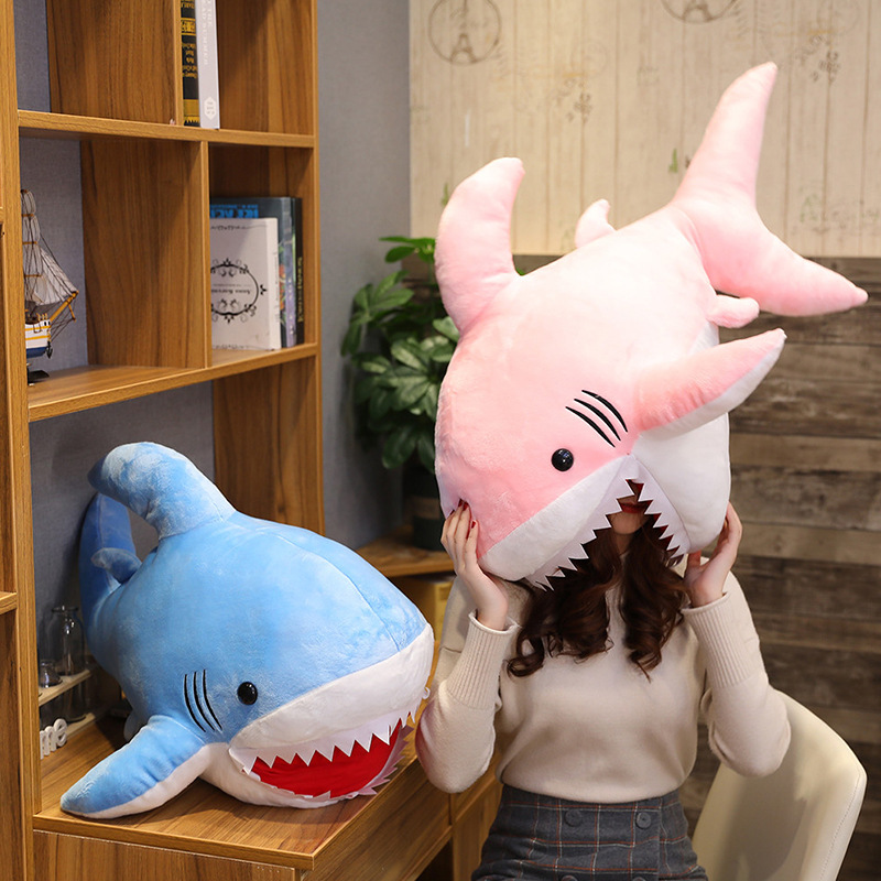 Baby Party Play Toys Stuffed Animal & Plush Toys Shark Doll Baby Soft Pillow Sofa Cushion Plush Shark Kids Birthday Gift