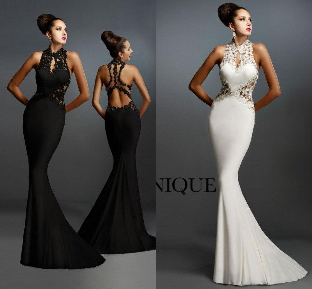 Black Evening Prom Gown 2018 New Arrival Formal Mermaid Lace Appliques Sexy Vestido De Festa Longo Mother Of The Bride Dresses