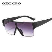 New Male Flat Top Sunglasses Women Brand