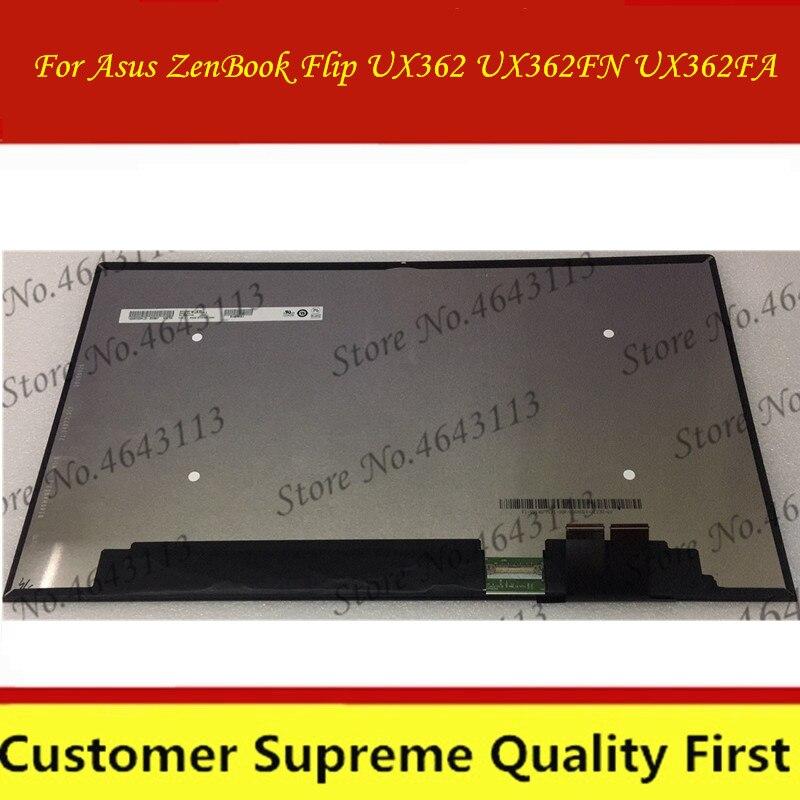 Сменный сенсорный ЖК-экран 13,3 дюйма для Asus ZenBook Flip UX362 UX362FA UX362FN