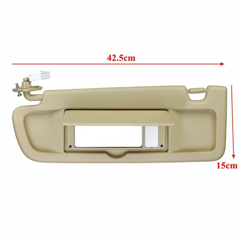 Front Left Driver Side Sun Visor Sunvisor For <font><b>Honda</b></font> <font><b>Civic</b></font> 2006 <font><b>2007</b></font> 2008-2011 image