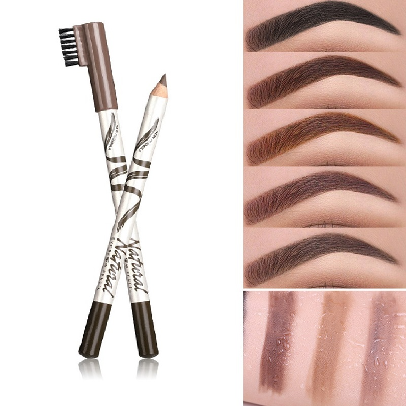 Makeup Menow Eyebrow Pencil Eyebrow Marker Waterproof Eyebrow Tattoo For Eyebrows 5 Colors Enhancer Dye Tint Pen Long Lasting
