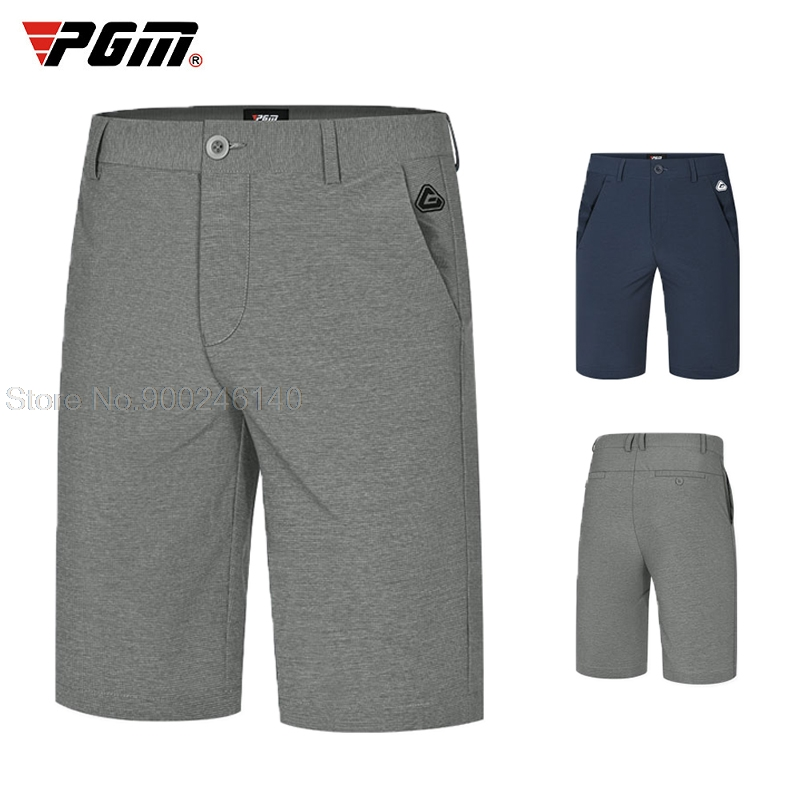 2021 Summer Men's Elastic Golf Shorts Male Flat-Front Male Shorts Breathable Quick-Dry Golf Trousers Sportswear All Size 30-38