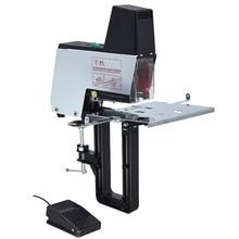 220V Electric Saddle Binder Flat Stapler A3 Stitching Machine Heavy Duty Raphe Binding Depth 10CM