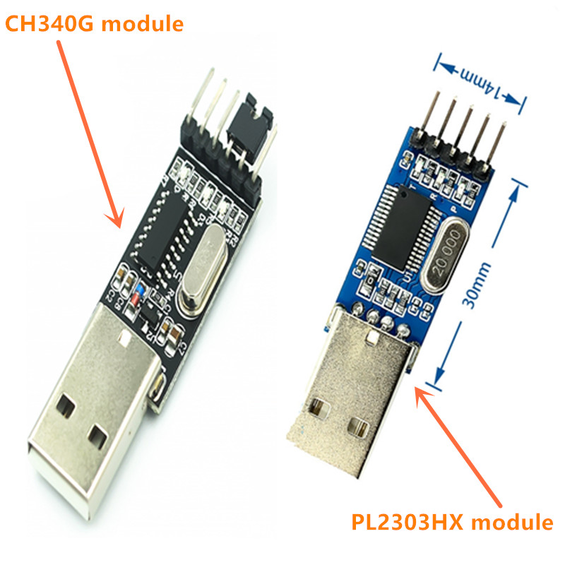 PL2303 USB To RS232 TTL Converter Adapter Module/USB TTL converter UART module CH340G CH340 module 3.3V 5V switch
