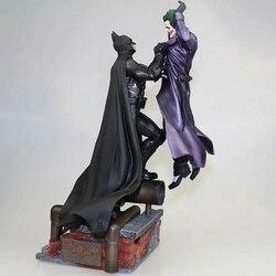 Комикс Бэтмен против Джокер статуя фигурку модель игрушки Аниме Бэтмен Джокер ПВХ фигурка