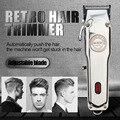 Перезаряжаемая машинка для стрижки волос, беспроводной электрический триммер для волос, профессиональная стрижка, бритва для бороды, бритв...