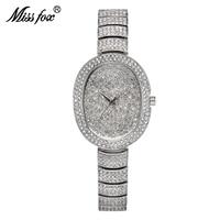 Watches Women New Business Austria Crystal Minimalist Quartz Fashion Watch Montre Femme Brand Full Diamond Woman Small Watch