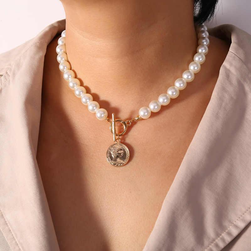Jeśli ty nowy motyl Choker naszyjnik dla kobiet mapa gwiazd oczy monety wisiorki naszyjniki 2020 Chain Chokers czeski biżuteria prezent