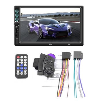 7 Inch Car Player Three Screen With Car Mp5/Mp4/Mp3 Player Card Radio Bt Phone For Apple For Android Internet Player image