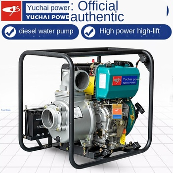 цена на Fire diesel engine water pump 2 / 3 / 4 / 6 inch high pressure household small agricultural high lift sewage pump
