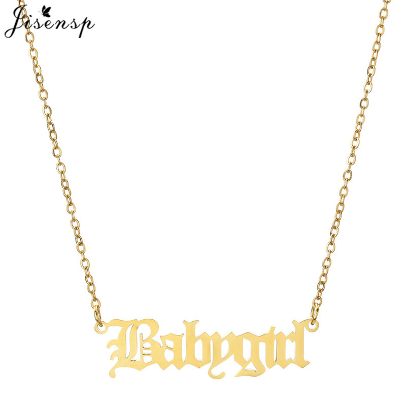 Gothic Ketting Babygirl necklace