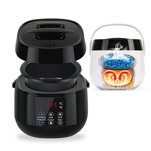 Image 1 - 500CC Wax Heater Hair Removal Machine LCD Display Smart Waxing Machine SPA Hand Feet Body Epilator Paraffin Wax Warmer Fast Heat