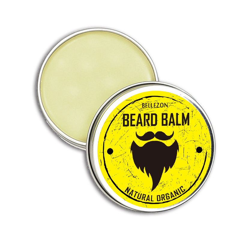 30g 100% Natural Organic Men's Beard Cream Beard Moisturizing Styling Wax Beard Conditioner Men's Beard Care Styling Moisturizin
