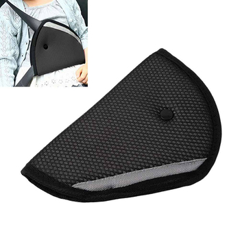 Children Kids Car Safety Triangle Seat Belt Clip Adjustable Protector Padding Comfortable Harness Pad Auto Interior Accessories image