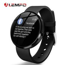 2019 New Smart Watch IP68 Waterproof Heart Rate Blood Pressure Monitoring LEMFO Smartwatch Fitness Tracker for Men Women(China)