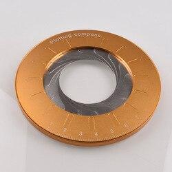 Прецизионная математическая измерительная линейка из нержавеющей стали, круглый регулируемый размер, DIY Рисование, круг, инструмент для об...
