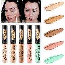 5 Color Liquid Concealer Cream Contour Full Cover Face Makeup