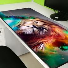 XGZ Anime cartoon lion Large Big Size Mousemat  Laptop Game Player Padmouse Speed Keyboard Mouse Pad gaming mousepad
