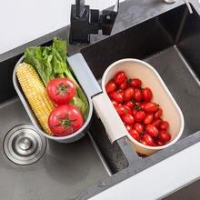 Подвесная корзина для слива раковины кухонная полка пластиковая
