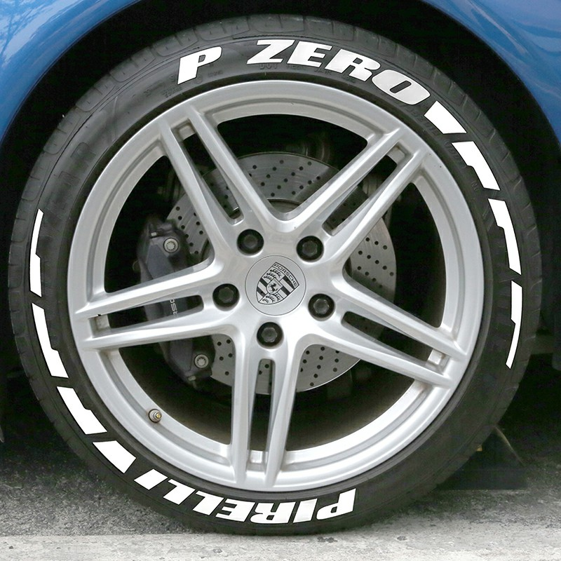 lowest price ZEKSTAR Car Sticker 3D PVC Stickers Tuning Universal Decals Motorcycle Accessories Tire Letterings Wheels Logo Styling Letters