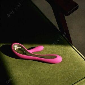 Image 3 - Lelo Soraya2 Điểm G Dương Vật Giả Nữ Rung Cặp Đôi Khoái Cảm Tình Dục Máy Mát Xa Đồ Chơi Người Lớn Thỏ Máy Rung Người Phụ Nữ Âm Vật Máy Kích Thích