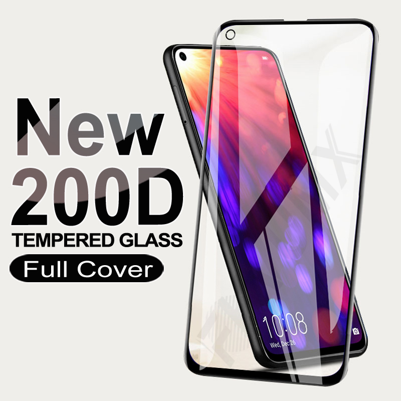 200D Protective Glass For Huawei honor <font><b>30</b></font> 20 <font><b>10</b></font> Lite 10i 20i 20S 30S Tempered Screen Protector Honor View 20 <font><b>30</b></font> V20 V30 V10 Film image