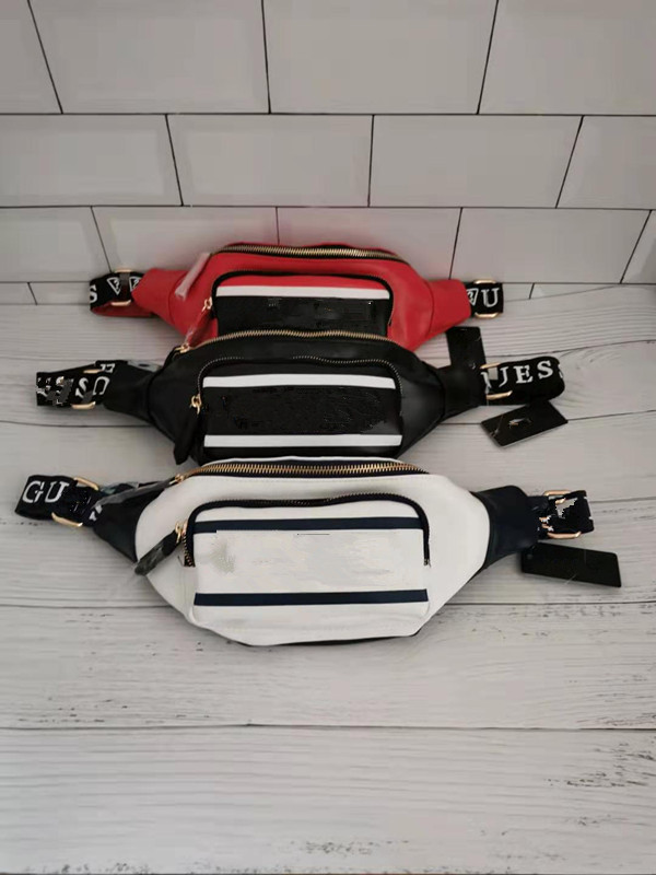Leather Tricolour Is Optional For The 2020 New Fashion Fanny Pack Waist Bag  Belt Bag Women