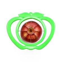 Rebanada de tomate de manzana de gran corte de 6 pulgadas, removedor de núcleo multifuncional de acero inoxidable, accesorios de cocina para cortar verduras