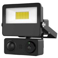Sdeter telecamera di sorveglianza per Garage con grande luce a Led HD 1080p telecamera IP per esterni lampada da parete videocamera di sicurezza Webcam per Aleax