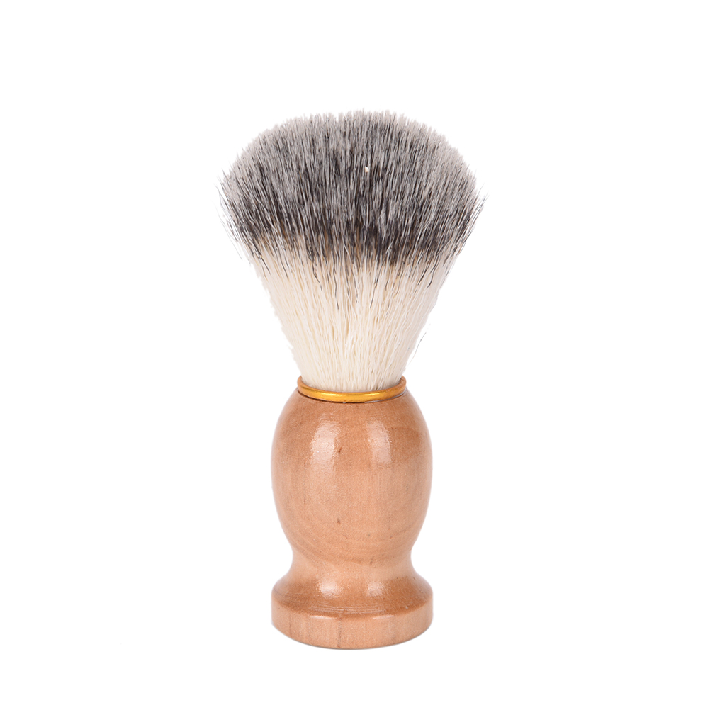 New 1Pc Pure Badger Hair Removal Beard Shaving Brush For Men Shave Tools Cosmetic Tool Shaving Brushes